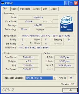 CPU-Z procesor
