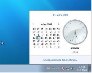 Panel času