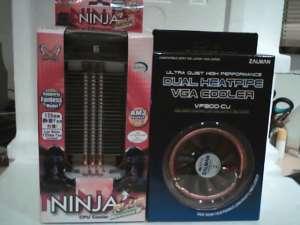 Scythe Ninja Plus a Zalman VF900-Cu na VGA