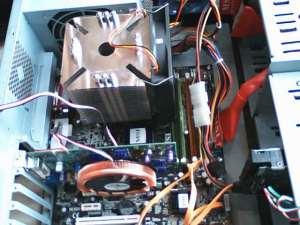 Scythe Ninja Plus a Zalman VF900-Cu instalovane do skrine