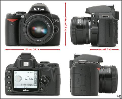Nikon D40 - full view