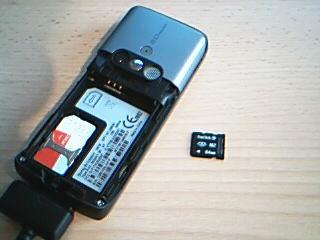 paměťová karta microSD