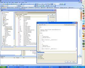 Code templates