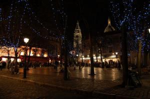 náměstíčko na kopci Montmartre